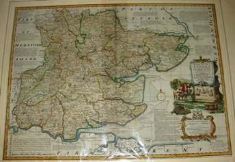 Thumbnail: Bowen's Large English Atlas 1760