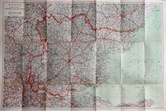Thumbnail: Geographia Three inch map 1944