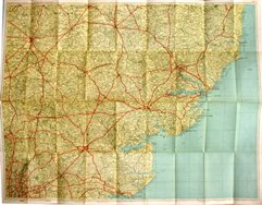 Thumbnail: Geographia Two inch map 1942